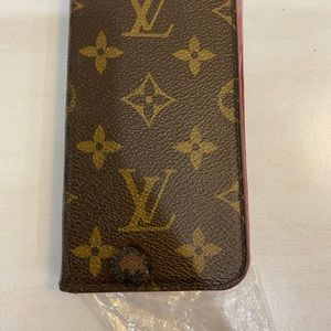 Authentic Luis Vuitton iPhone X case